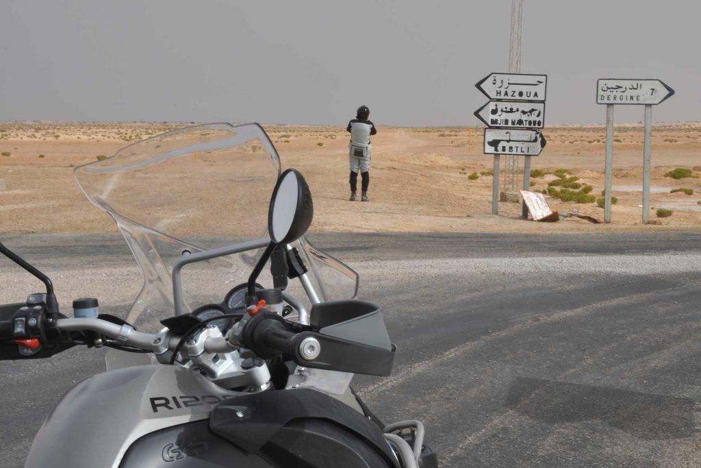 Tunisia in moto a Capodanno