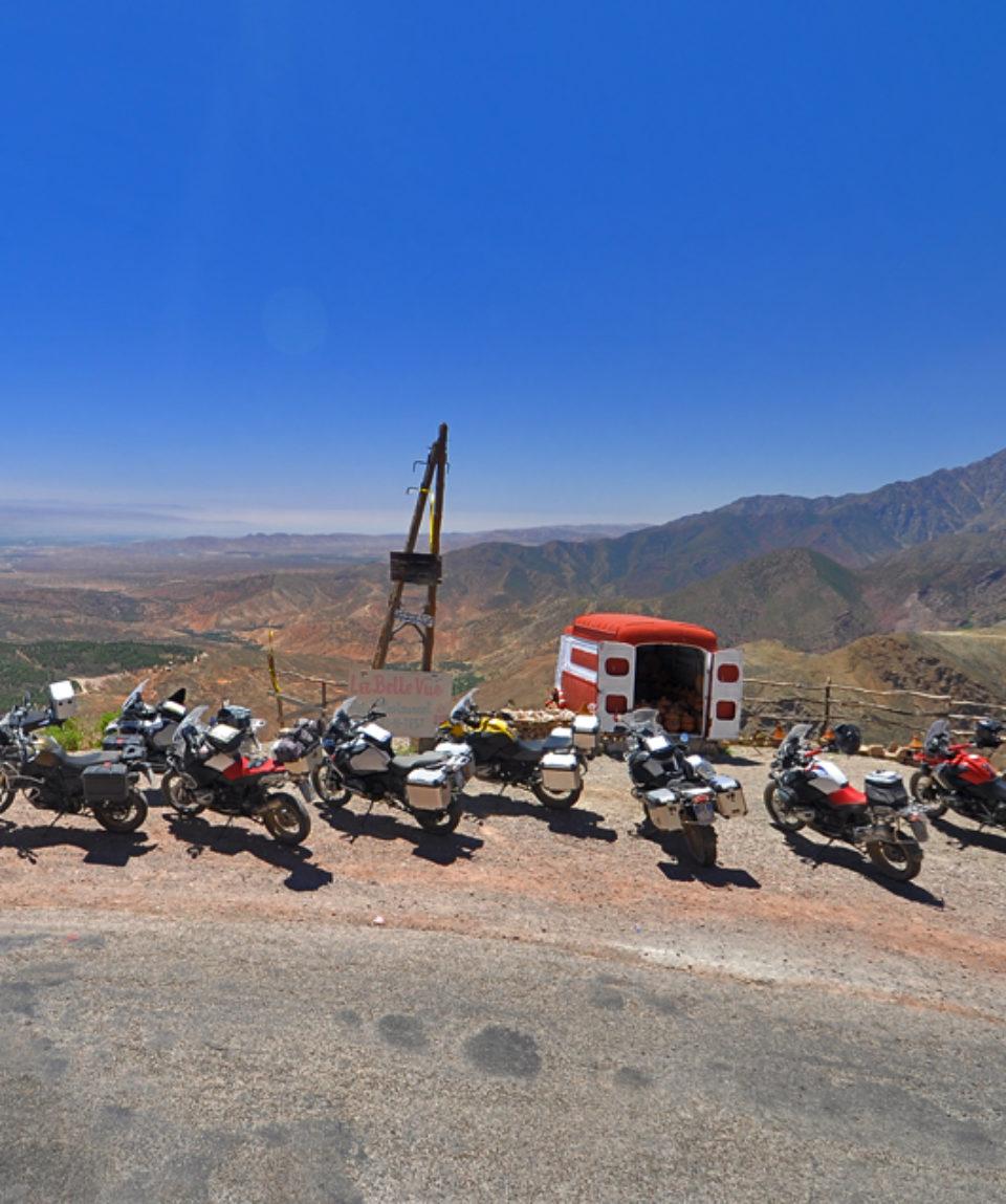 Marocco in moto