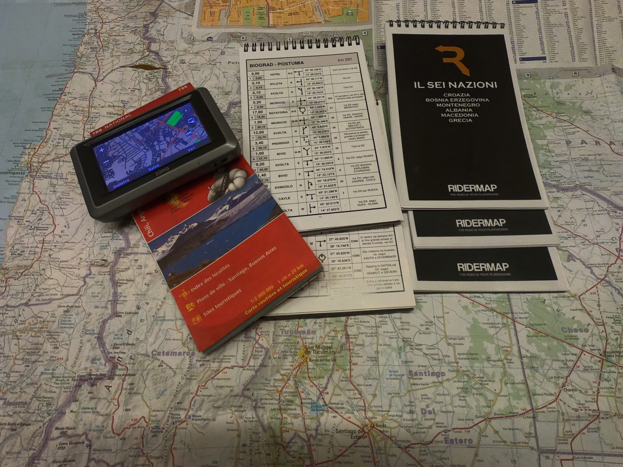 Roadbook vs navigatore