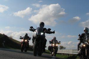 Giro in moto in centro Italia